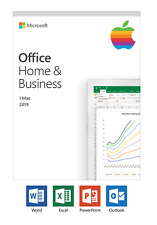 Microsoft Office 2019  Home and Business for Mac Medialess Retail Key