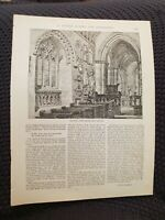 Transept, Wheathampstead Church - Book Print