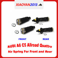 4pcs of 2001-2005 Audi Allroad Quattro A6 C5 Front and Rear Air Spring Bag