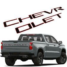 Red Chrome 2 Pcs Small Size Z71 Emblem 3D Alloy Badge Nameplate Replacement for GM Chevy Silverado Colorado Suburban GMC Sierra Tahoe