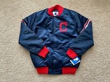 NEW Starter Cleveland Indians Varsity Jacket men M