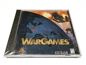 ❤️WarGames PC CD-ROM WIN 95/98 NEW Factory Sealed! RARE