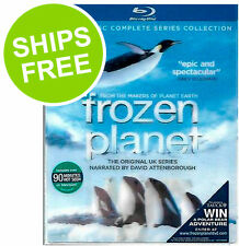 Frozen Planet Complete Series Collection (Blu-ray 2012) NEW, Sealed, BBC Earth,