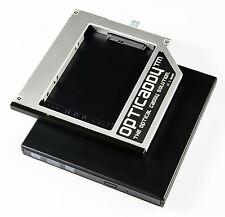 Opticaddy SATA-3 HDD/SSD Caddy+bezel+DVD Case Dell Latitude E4200