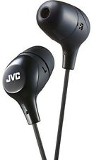 JVC HAFX38B Marshmallow Earphones Black - Electronics