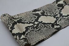 authentic Python Printed-on CB SNAKE SKIN Snakeskin genuine leather Natural