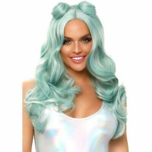 "Long Beachy Buns Wig - Leg Avenue - Adult 24"" Halloween Fashion Cosplay Women"