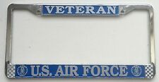 US Air Force Veteran License Plate Frame