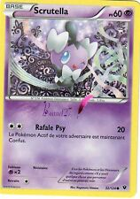 "Carte Pokemon "" SCRUTELLA "" Impact des destins XY PV 60 32/124  VF"