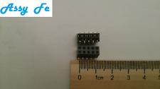 3 pcx x FHD47110M0010 CONNECTOR 10PINES SMD PCB HEADER 10 VIAS 10PIN conector