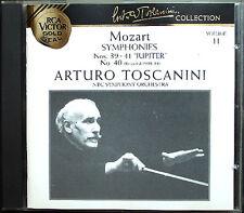 Arturo TOSCANINI: MOZART Symphony No.39 40 41 Jupiter CD Sinfonien NBC Orchestra