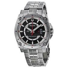 New Bulova Men's 96B133 Precisionist Champlain Titanium Bracelet Watch