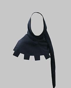 Woolen Medieval Hood Hat COWL Mittelalterliche Haube LARP halloween Goth