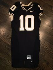 Game Worn Purdue Boilermakers Football Jersey Used Nike #10 Size 40 EARGLE