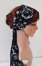Long chiffon headband, hair scarf, headscarf, hair bandanna, hair tie, hair wrap