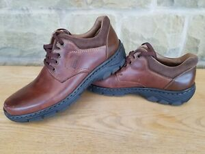 RIEKER Antistress Men's Size UK 7 Brown Leather Lace Up Casual Shoes BNWT