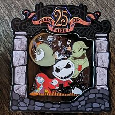 Nightmare Before Christmas Jumbo Pin 2018 Disney Oogie 25th Anniversary LE 1500
