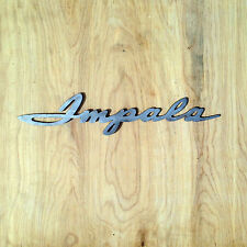 Chevy Impala Metal Wall Art Sign