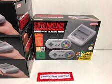 Nintendo Super Nintendo SNES Classic Mini Console BRAND NEW N00017