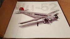"""ARMOUR Franklin Mint Junkers Ju-52 Ju Air """"IWC Big Pilot"""" HB-HOS 1:48 Metall RAR"""