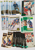 (123) card Doug Weight mixed lot w/ rookies, Edmonton Oilers legend