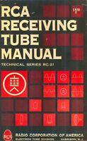 RCA RECEIVING TUBE MANUAL RC-21 1961 PDF