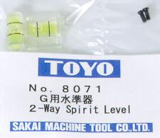 2-WAY SPIRIT LEVEL TOYO N°8071 - JAPAN - USA #(180-713) TOYO 45 CF 45 CF L 810 M