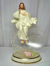 Bradford Exchange Jesus Love Is Patient 2nd Issue Limited Collection Plate 2002