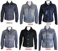 Meltin'Pot giacca giubbotto jeans jerry uomo denim ampio taglia S M L XL XXL