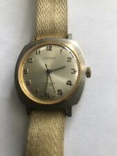 Old vintage gents Russian Hand Wind mechanical Cossak watch Good working  Order