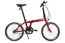 Allen Sports Urban 1-Speed Folding Bike - Red