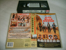 Vhs *THE WILD BUNCH* Rare 1969 WB - Borgnine : Holden : Ryan - Cult Western S1