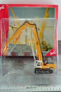 Herpa 152006 Liebherr R954 Crawler Excavator w/ Pliers HO 1:87 Scale