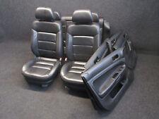 Lederausstattung VW Passat 3B Variant Sportsitze Ausstattung LEDER schwarz