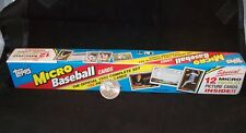1992 TOPPS Micro Baseball Cards Complete Factory Sealed Set + Gold Foil cards