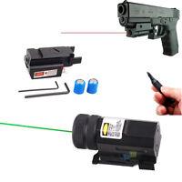 Red/Green Laser Sight Tactical 20mm Picatinny Weaver Rail Mount for Pistol Gun