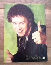 PAUL HARDCASTLE 'thumbs up' magazine PHOTO/Poster/clipping 11x8 inches