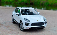 WELLY 1:24 SUV Alloy Car Model Boys Gift Static Display For Porsche MACAN Turbo