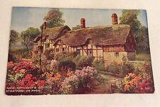 Valentine's vintage Mailing Novelty Postcard Anne Hathaway's Cottage