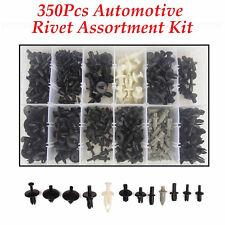 350 Stk. Auto Kunststoffnieten Set Niet Verkleidung Feststeller Clips Befestiger