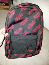 Netflix STRANGER THINGS Official Authentic Backpack Bookbag Collectible RARE