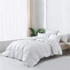 Everspread Essential Goose Down Comforter Duvet Insert, Lightweight,Cotton Shell