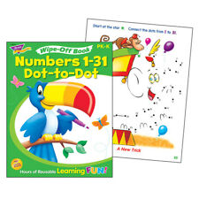 Numbers 1-31 Dot To Dot Wipe Off