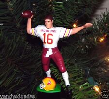 jake PLUMMER arizona STATE devils football xmas NCAA ornament HOLIDAY vtg JERSEY