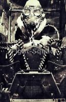 WW2 Picture Photo Turret gunner of a US bomber B-17 1627