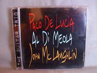 Al di Meola/ John McLaughlin/ Paco de Lucia- The Guitar Trio- VERVE 1996