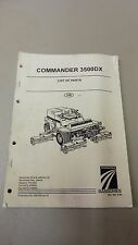 RANSOMES Commander 3500DX GREENSMOWER PARTS MANUAL 180 pages