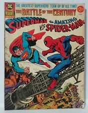 SUPERMAN vs The AMAZING SPIDER-MAN DC & MARVEL Present Treasury Edition (1976)