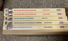 DOCTOR WHO 6 SET BBC BOOKS COLLECTION DAVID WHITAKER TERRANCE DICKS GERRY DAVIS