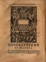 """Enrico Bacco """"DESCRITTIONE DEL REGNO DI NAPOLI"""" Napoli 1671, Libro in PDF"""